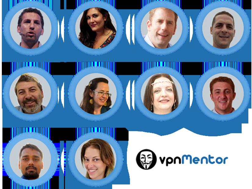 Il team di esperti di vpnMentor